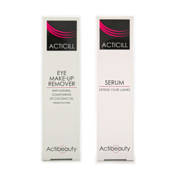 Eye Make-Up Complete KIT 2x1 Remover, Serum